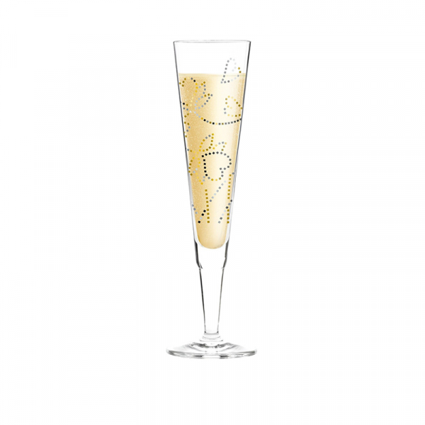 Champagneglas 241 200 ml hartjes