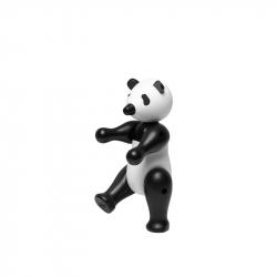 Panda small zwart/wit hout