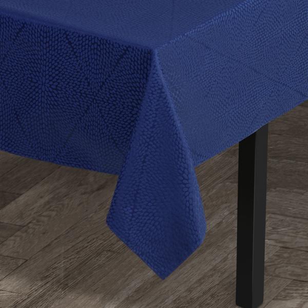Tafelkleed 140 x 270 cm blauw
