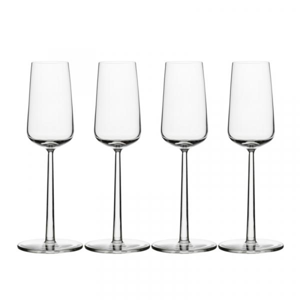 Champagneglas 0,21 l, per 4