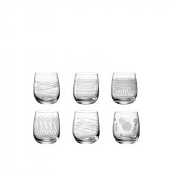 Waterglas met print 0,36 l, per 6