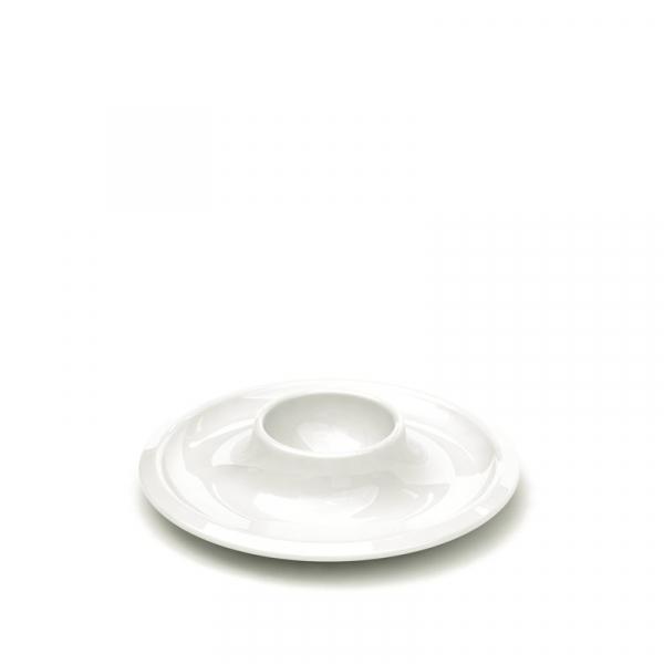 Eierdopje 12 cm wit, per 2