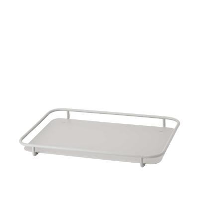 Rig-Tig Carry-On Dienblad 30 x 5 x 47 cm grijs