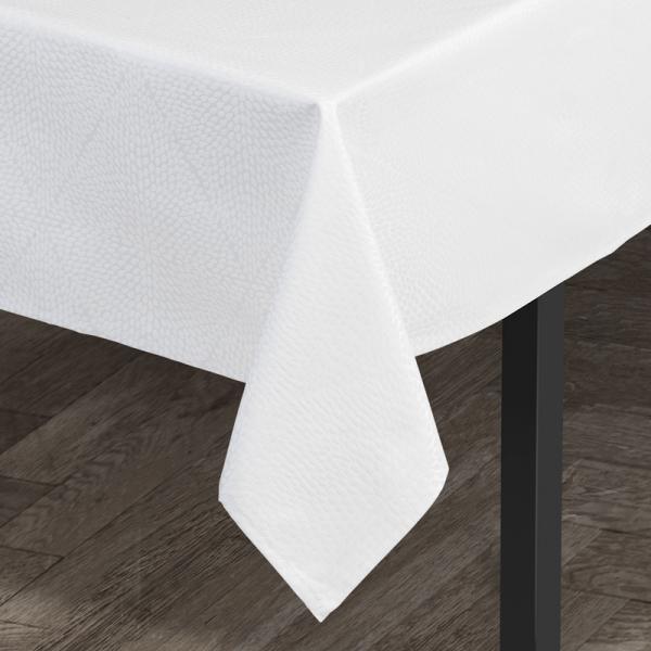 Tafelkleed 140 x 320 cm wit