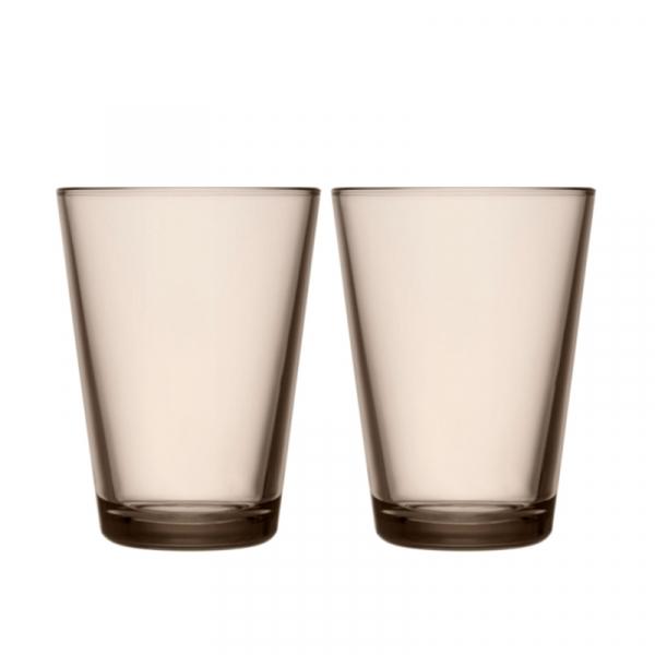 Waterglas 0,40 l Linnen, per 2