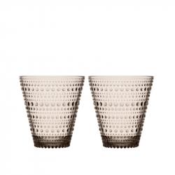 Waterglas 0,30 l linnen, per 2