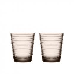 Waterglas 0,22 l Linnen, per 2