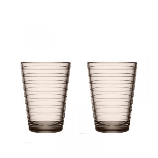 Waterglas 0,33 l Linnen, per 2