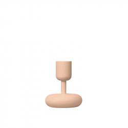 Kaarsenstandaard 10,7 cm poeder roze