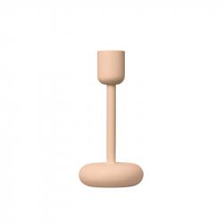 Kaarsenstandaard 18,3 cm poeder roze