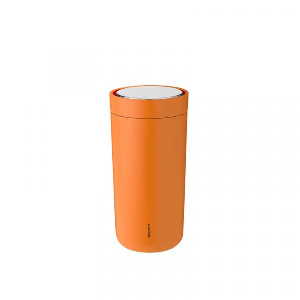 Thermosbeker 0,2 l soft orange