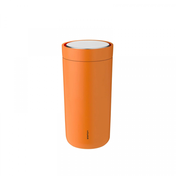 Thermosbeker 0,4 l soft orange