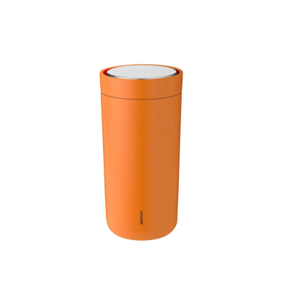 Stelton To Go Click Thermosbeker 0,4 l soft orange