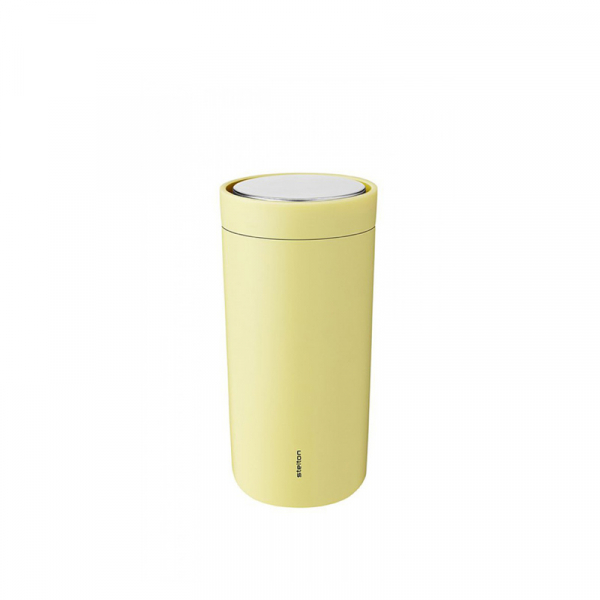 Thermosbeker 0,2 l soft yellow