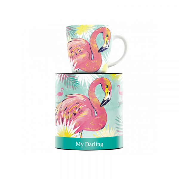 Mok 190 flamingo - 300 ml