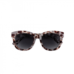 Zonneleesbril Grijs Tortoise +2.0