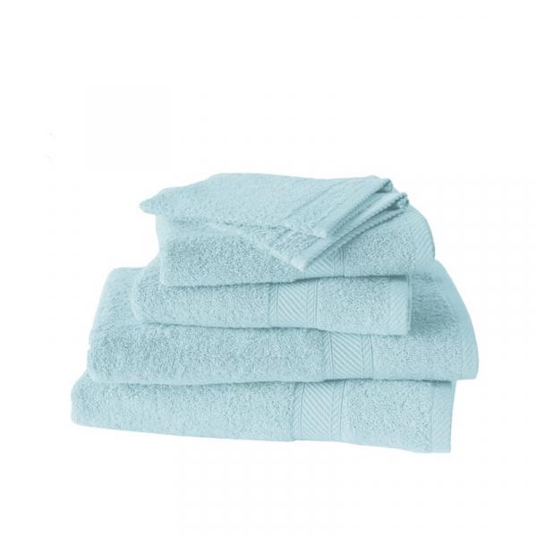 Handdoekenset met washanden Plume, 6 delig
