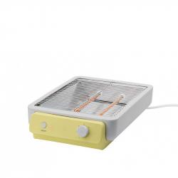 Flatbed toaster lichtgeel
