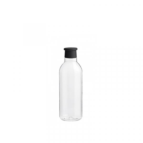 Waterfles 0,75 l zwart