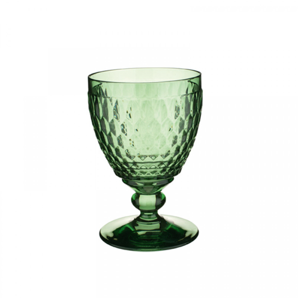Waterglas groen 0,4 l, per 4