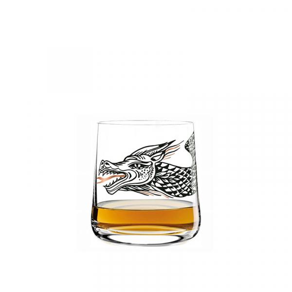 Whiskyglas dragon 016