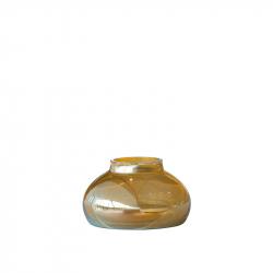 Vaas 9 x 15 cm goudkleurig