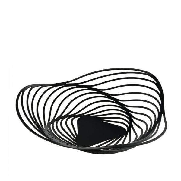 Schaal/Centrepiece 43 cm zwart