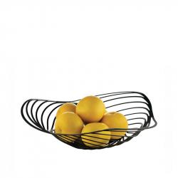 Fruitschaal 33 cm zwart