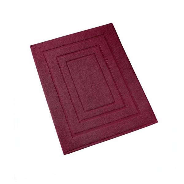 Badmat 60 x 100 cm Beet Red