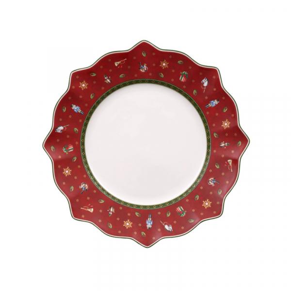 Dinerbord 29 cm Rood