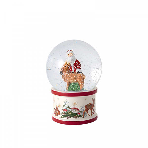 Sneeuwbol Kerstman 17 cm