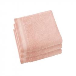 handdoekset 50 x 100 cm ice pink, per 3