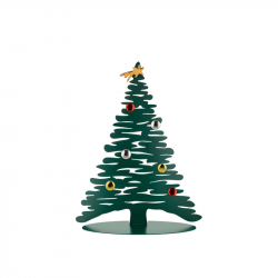Kerstboom RVS 30 cm incl. magneten