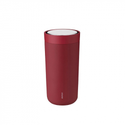 Thermosbeker 0,4 l warm maroon