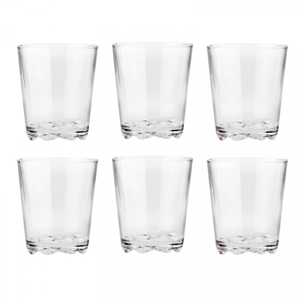 Waterglas 0,25 l, per 6