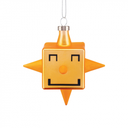Kerstornament Cubik Star