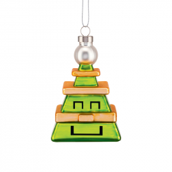 Kerstornament Cubik Tree