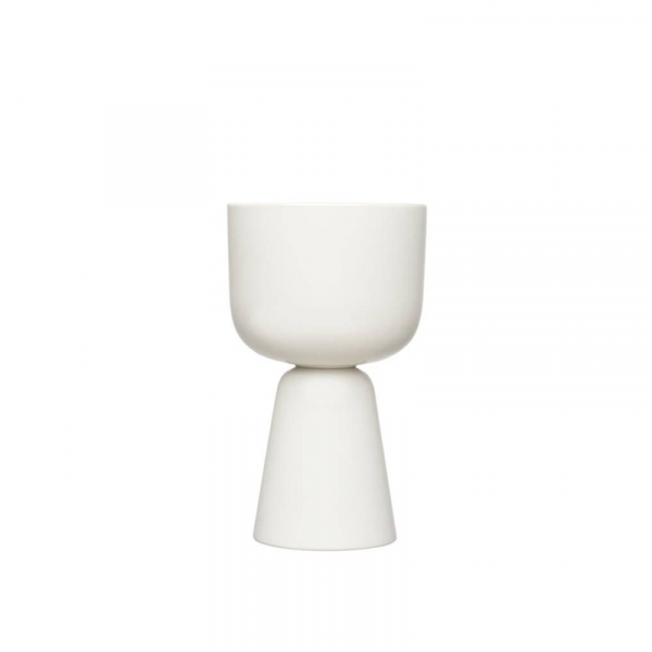 bloempot 26x15,5 cm wit
