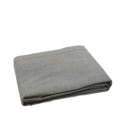 Tafelkleed 140/300 cm gemeleerd grijs