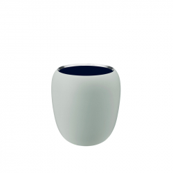 Vaas mint / midnight bleu 20 cm