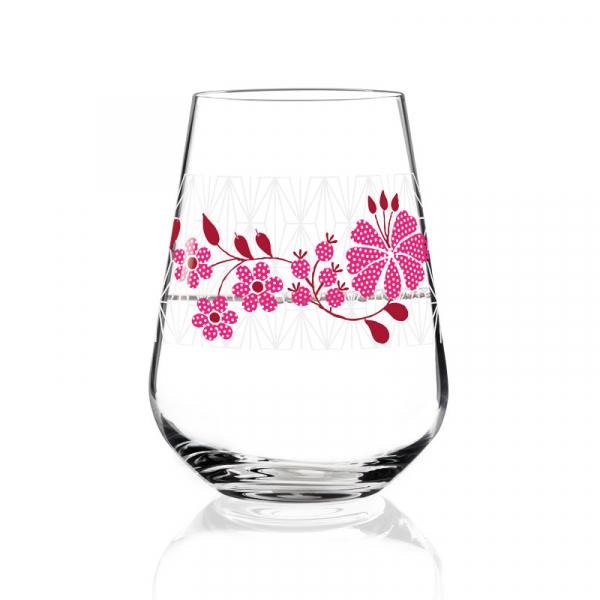 Flower water/wijnglas 003