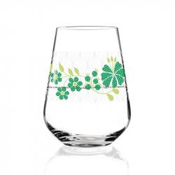 Flower water/wijnglas 004