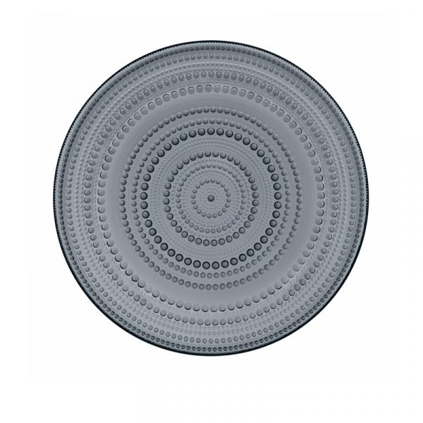 Bord 31,5 cm donkergrijs