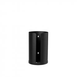 Toiletrolhouder 2 rollen zwart