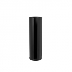 Toiletrolhouder 4 rollen zwart