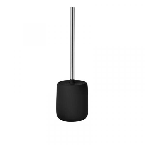 Toiletborstel zwart 39 cm