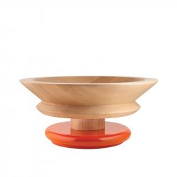 Centrepiece schaal oranje