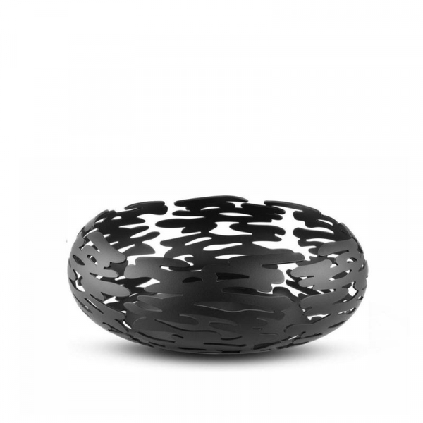 Schaal 21 cm zwart
