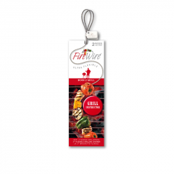 Fire Wire barbecuespies, per 2