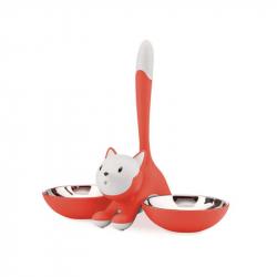 Kattenbak Rood/Oranje